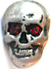 Skull Mini rot 10mm x 13mm