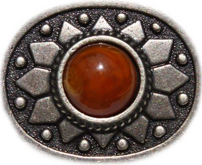Stein braun Sonne 25mm x 30mm